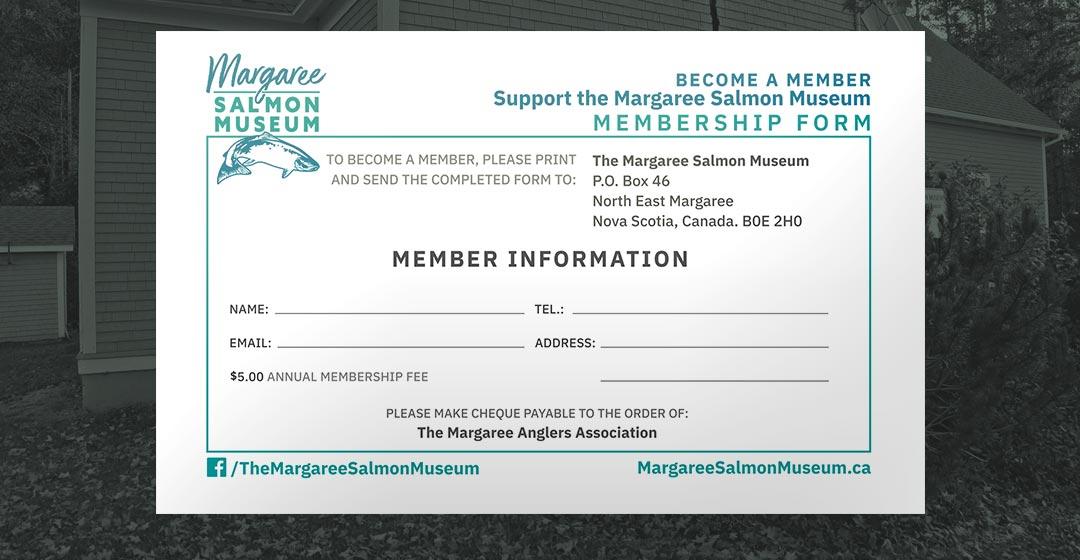 The Margaree Salmon Museum Membership Form