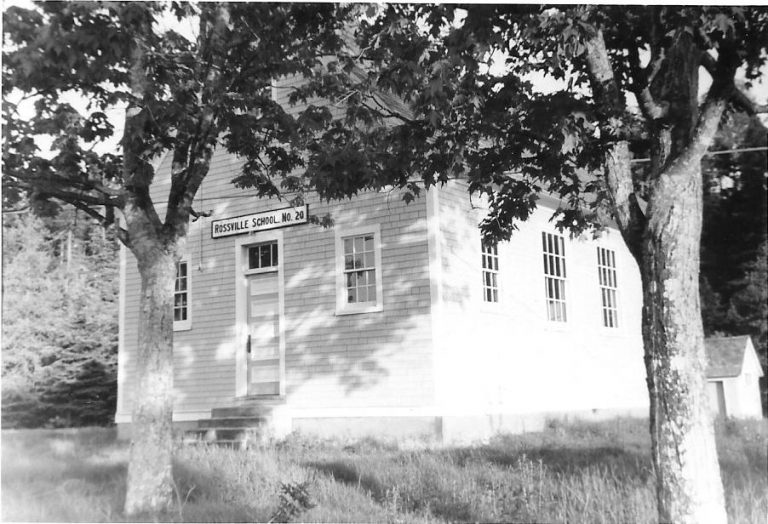 A picture of the museum from when it was still a school.